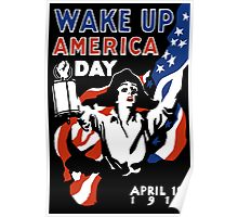 Wake Up America Day -- WW1 Poster