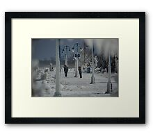 Windy adventures (raw) Framed Print