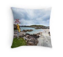 Fall Island Throw Pillow