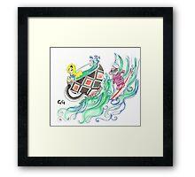 Surf's Up Framed Print