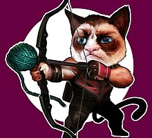 HAWKEYE CAT by Corbella