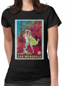 Leonetto Cappiello Affiche Source Reine Womens Fitted T-Shirt