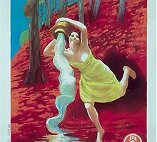 Leonetto Cappiello Affiche Source Reine by wetdryvac