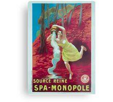 Leonetto Cappiello Affiche Source Reine Metal Print