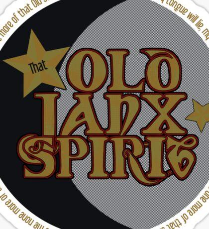 That Old Janx Spirit Sticker