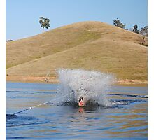 Waterskiing on Lake Eildon, Labor Day Weekend Photographic Print