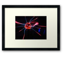 Tesla Ball Framed Print
