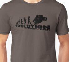 Biker evolution Unisex T-Shirt