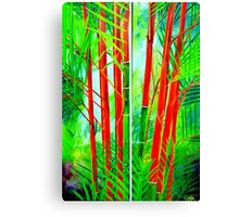 Lipstick Palm Canvas Print