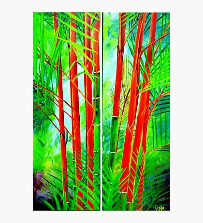 Lipstick Palm Photographic Print