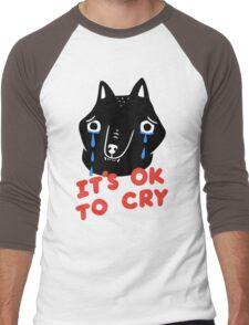 Cry, Wolf Men's Baseball ¾ T-Shirt
