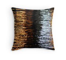 Reflections on water, Vietnam Throw Pillow