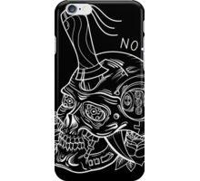 Terminator T800 Skull Tattoo Flash B&W iPhone Case/Skin