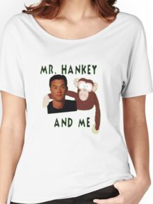 Mr. Hankey and Me Women's Relaxed Fit T-Shirt