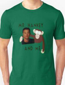 Mr. Hankey and Me Unisex T-Shirt