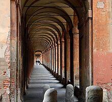 Weathered walkway by Chris Allen