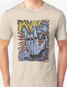 Poker Skeleton Unisex T-Shirt