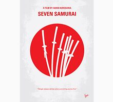 No200 My The Seven Samurai minimal movie poster Unisex T-Shirt