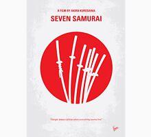 No200 My The Seven Samurai minimal movie poster Unisex T-Shirt