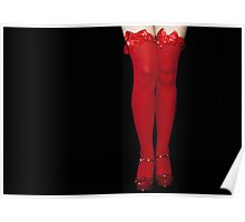 Red Stockings02 Poster