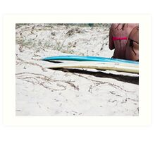 Sunday Morning, Currumbin Beach Art Print