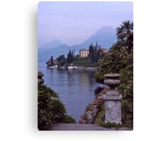 Villa Monastero, Varenna, Lake Como, Italy. Canvas Print