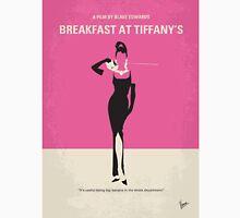 No204 My Breakfast at Tiffanys minimal movie poster T-Shirt