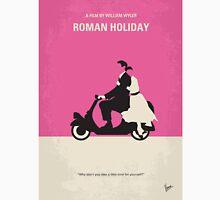 No205 My Roman Holiday minimal movie poster T-Shirt