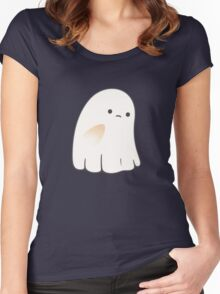 Sad ghost Women's Fitted Scoop T-Shirt