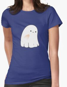 Sad ghost Womens Fitted T-Shirt