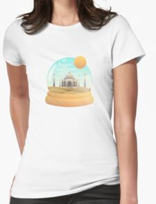 Sand Globe Womens Fitted T-Shirt