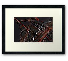 Oilfield Art - 2 Framed Print