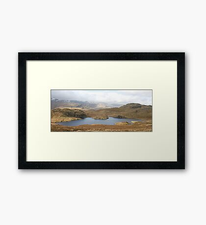Angle Tarn, Lake District National Park Framed Print