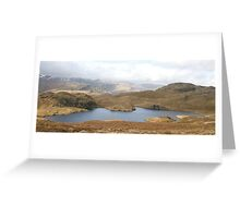 Angle Tarn, Lake District National Park Greeting Card