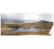 Angle Tarn, Lake District National Park Poster