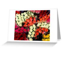 Flowers from Jersey... Greeting Card