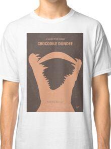 No210 My Crocodile Dundee minimal movie poster Classic T-Shirt