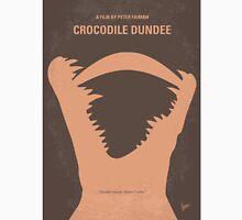 No210 My Crocodile Dundee minimal movie poster Unisex T-Shirt