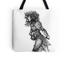 Walk tall [Pen Drawn Figure Illustration] Tote Bag