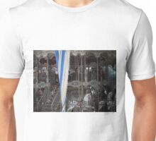 Carousel With a Striped Curtain Unisex T-Shirt