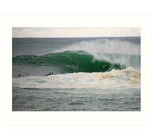 the swell. bicheno, tasmania Art Print