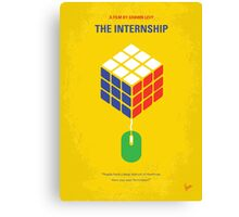 No215 My The Internship minimal movie poster Canvas Print