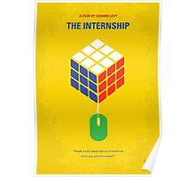 No215 My The Internship minimal movie poster Poster