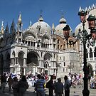 St. Marks square crowd by machka