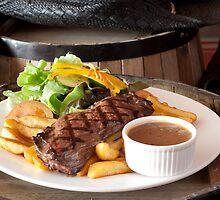 Rump Steak by Jojie Certeza