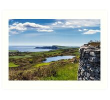 Knockdrum Fort Art Print