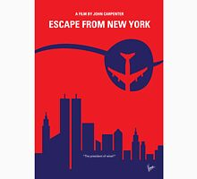 No219 My Escape from New York minimal movie poster Unisex T-Shirt