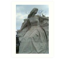 Nagasaki Peace Park Statue Art Print