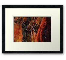 Red Beads Framed Print