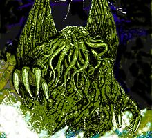 H P Lovecraft's Cthulhu by Sally O'Dell